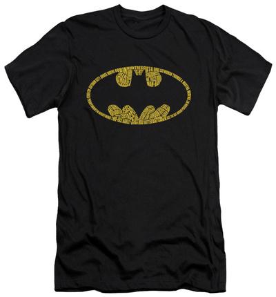 Batman – Word Logo (slim fit) Shirts