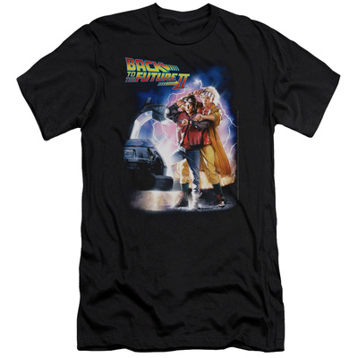 Back To The Future II - Poster (slim fit) T-shirts!