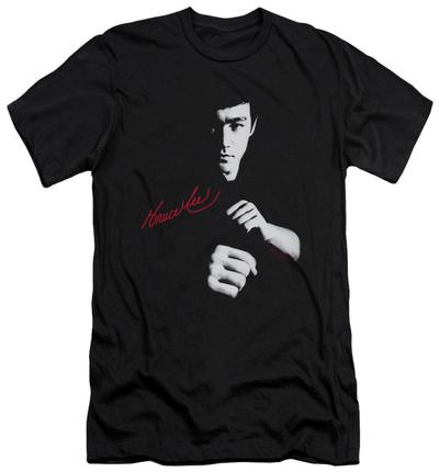 Bruce Lee – The Dragon Awaits (slim fit) T-Shirt