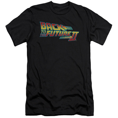Back To The Future II - Logo (slim fit) T-shirts