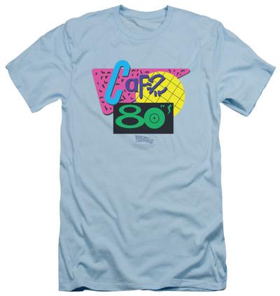Back To The Future II - Cafe 80's (slim fit) T-shirts