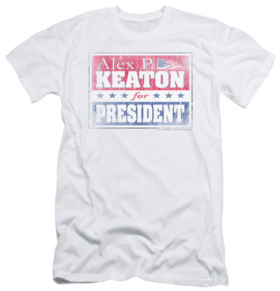 Family Ties - Alex For President (slim fit) T-Shirt
