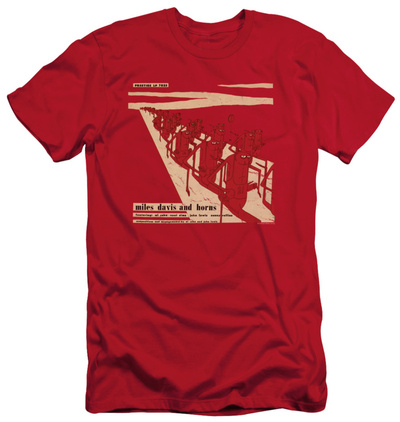 Miles Davis - Davis And Horn (slim fit) T-shirts