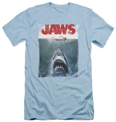 Jaws - Title (slim fit) T-Shirt