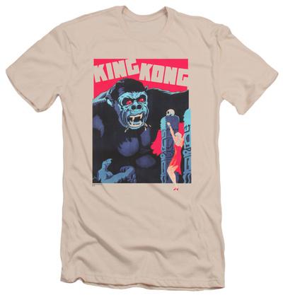 King Kong - Bright Poster (slim fit) T-shirts