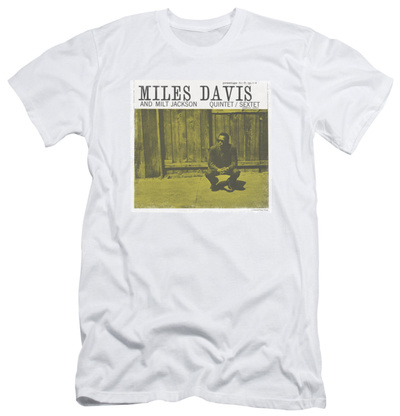 Miles Davis - Miles And Milt (slim fit) T-shirts