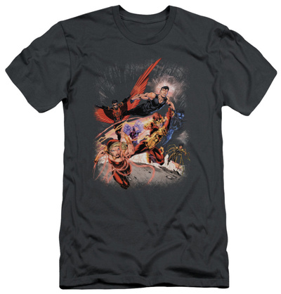 Teen Titans issue #1 cover art comic book t-shirt