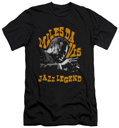 Miles Davis - Jazz Legend (slim fit) T-shirts