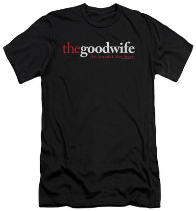The Good Wife - Logo (slim fit) T-Shirt