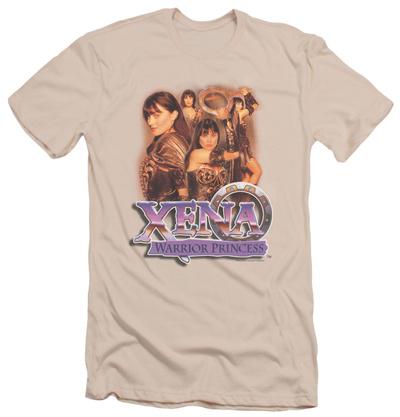 Xena: Warrior Princess - Princess Collage (slim fit) T-shirts