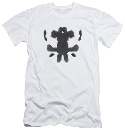 Watchmen - Rorschach Face (slim fit) T-shirts