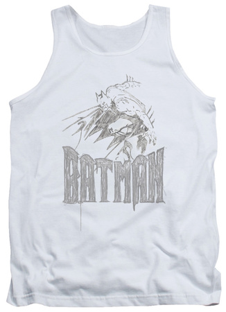 Tank Top: Batman - Knight Sketch Tank Top