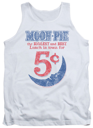 Tank Top: Moon Pie - Lunch Munch Tank Top