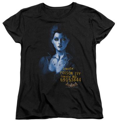 Womens: Batman Arkham Asylum - Arkham Poison Ivy T-Shirt