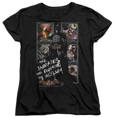Womens: Batman Arkham Asylum - Running The Asylum Shirt