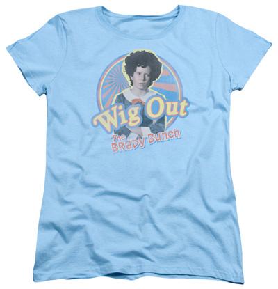 Womens: Brady Bunch - Wig Out Shirts