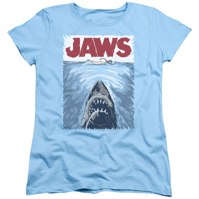 Womens: Jaws - Graphic Poster T-Shirt