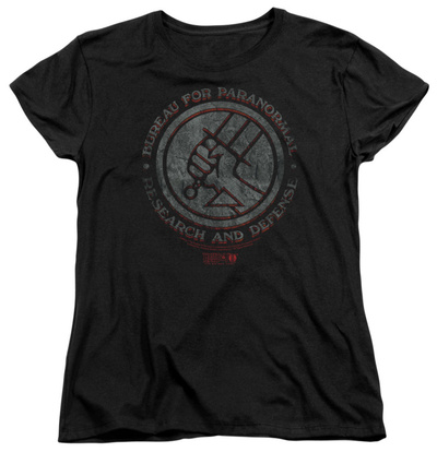 Womens: Hellboy II – BPRD Stone T-Shirt
