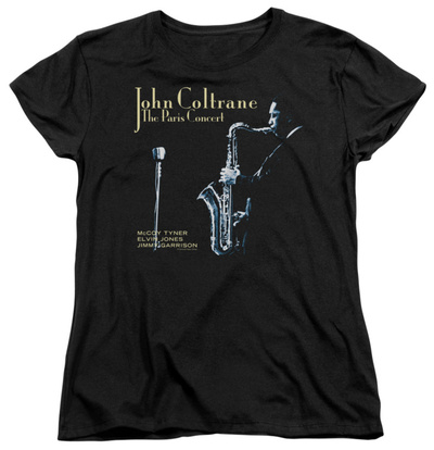 Womens: John Coltane - Paris Coltrane T-shirts