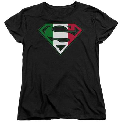 Womens: Superman - Italian Shield Shirts