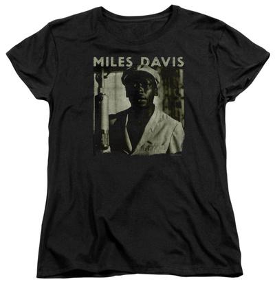 Womens: Miles Davis - Miles Portrait T-Shirt