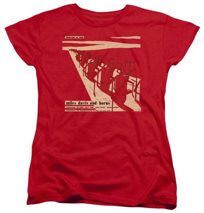 Womens: Miles Davis - Davis And Horn T-Shirt