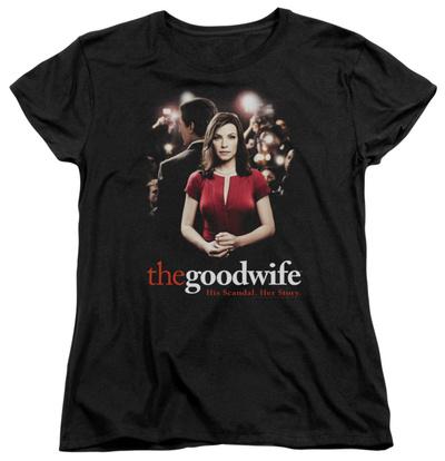Womens: The Good Wife - Bad Press T-Shirt