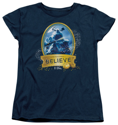 Womens: Polar Express - True Believer T-shirts