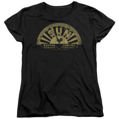 Womens: Sun Records - Tattered Logo Shirts