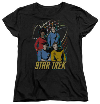 Womens: Star Trek - Warp Factor 4 T-Shirt