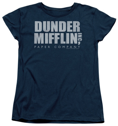 Womens: The Office - Dunder Mifflin Distressed Shirts
