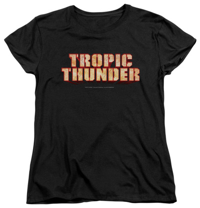 Womens: Tropic Thunder - Title T-shirts
