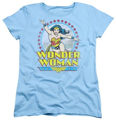 Womens: Wonder Woman - Star Of Paradise Island Shirt
