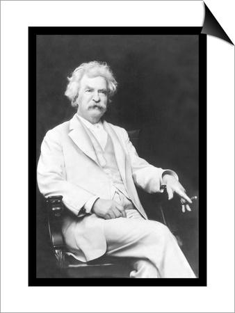 Mark Twain Prints by A.f. Bradley