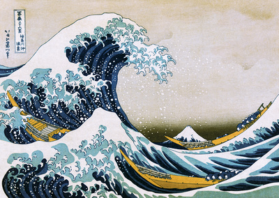 Hokusai The Great Wave Posters af Katsushika Hokusai