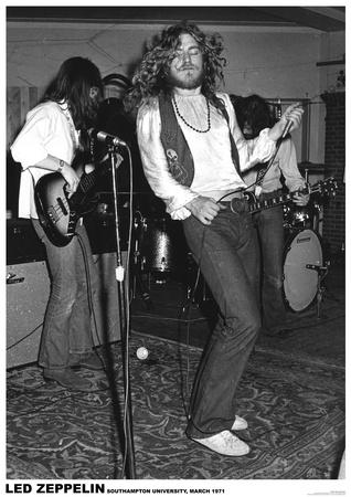 Led Zeppelin – Southampton Uni 1971 Posters
