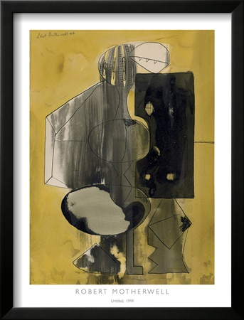 Untitled, 1944 Prints by Robert Motherwell