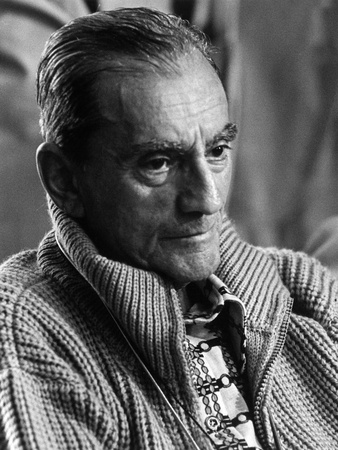 Portrait of Luchino Visconti Photographic Print by Marisa Rastellini