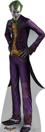 The Joker - Arkham Asylum Game Lifesize Standup Cardboard Cutouts