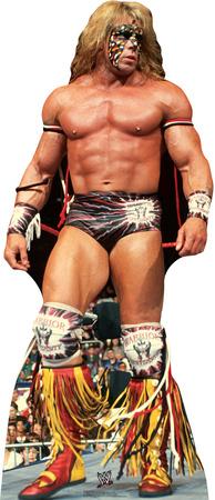 Ultimate Warrior - WWE Lifesize Standup Cardboard Cutouts