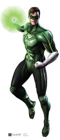 Green Lantern - Injustice DC Comics Game Lifesize Standup Cardboard Cutouts