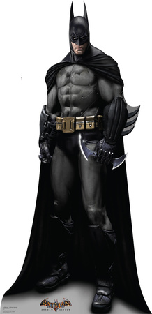Batman - Arkham Asylum Game Lifesize Standup Cardboard Cutouts