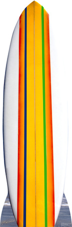 Surf Board Lifesize Standup Cardboard Cutouts