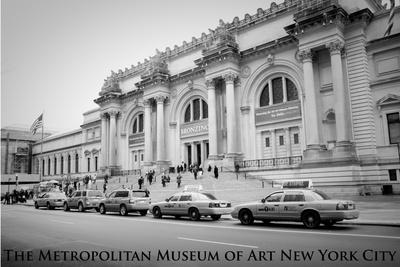 New York City (Metropolitan Museum of Art) Art Poster Print Prints