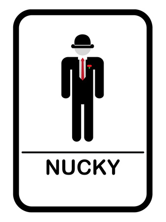 Nucky Bathroom Posters