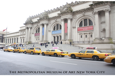 New York City (Metropolitan Museum of Art, Color) Art Poster Print Photo