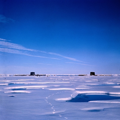Submarines Submerged at North Pole Photographic Print