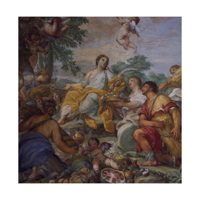 Allegory of Summer Giclee Print by Carlo Maratti