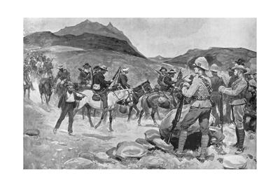 Surrender of General Prinsloo, July 30, 1900 Giclee Print by Ernest Prater