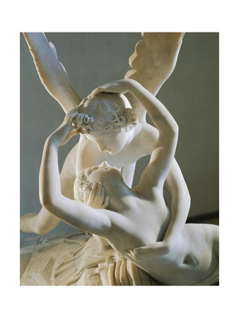 Cupid and Psyche Giclee Print by Antonio Canova